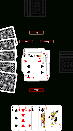 old maid anytime(free playing cards) screenshot 1