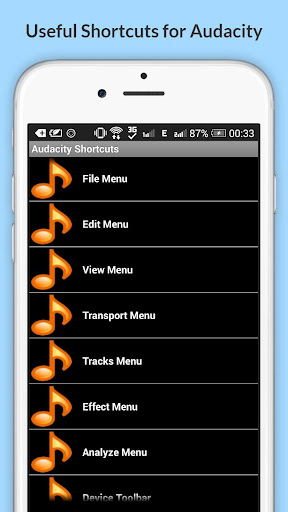 Free Audacity Shortcuts 6.6.6.2 Screenshots 18