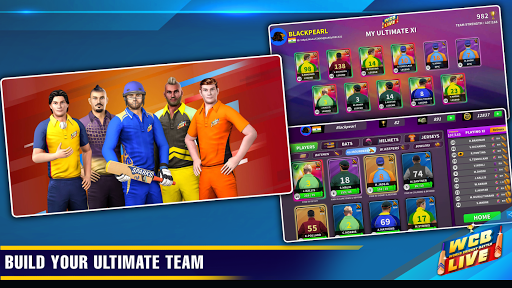WCB LIVE Cricket Multiplayer: PvP Cricket Clash android2mod screenshots 4