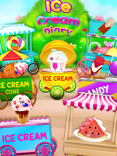 Télécharger Ice Cream Diary - Cooking Games APK MOD 1