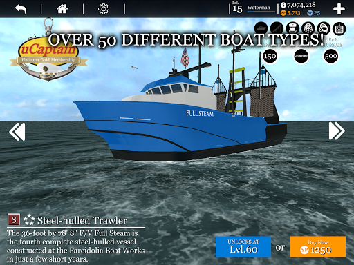 Boat Game ud83cudfa3 - Ship & Fishing Simulator uCaptain u26f5 5.9 screenshots 15