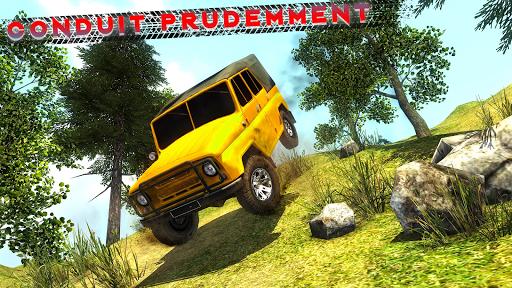 Code Triche Offroad Jeep Driving & Racing cascades apk mod screenshots 3