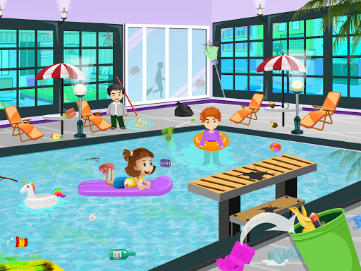 Pretend Play Hotel Cleaning: Doll House Fun 1.1.5 screenshots 16