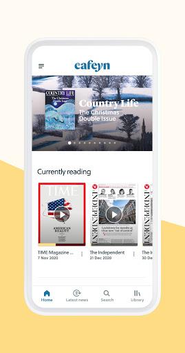 CAFEYN u2013 Online magazine subscriptions 4.10.2 Screenshots 2