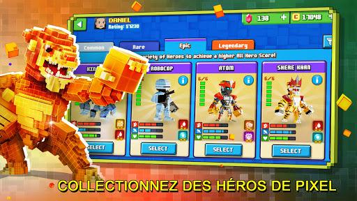 Télécharger Gratuit Super Pixel Heroes 2021 mod apk screenshots 1