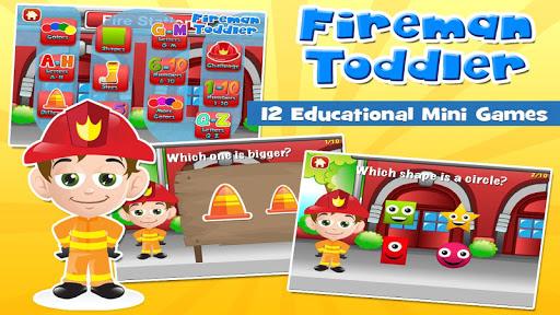 Fireman Toddler School Free 3.20 screenshots 1