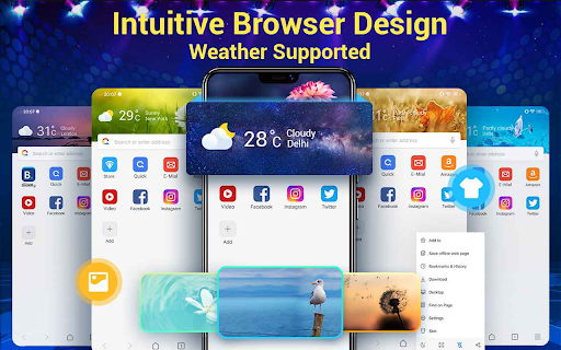 Web Browser & Fast Explorer android2mod screenshots 13