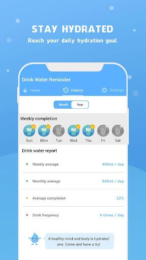 Water Reminder - Remind Drink Water 15.0 Screenshots 8