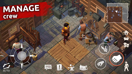 Mutiny: Pirate Survival APK (MOD, Free Craft) for Android 5