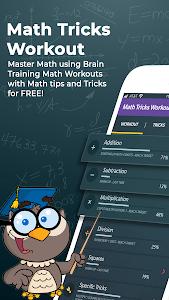 Math Tricks Workout - Math master - Brain training 1.9.2 (Pro) (Mod)