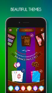 Blackjack! u2660ufe0f Free Black Jack Casino Card Game screenshots 6