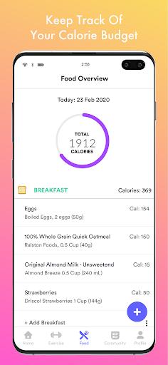 Qalorie: Calorie Counter & Weight Loss android2mod screenshots 3