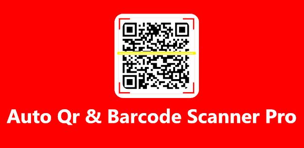 Auto Qr & Barcode Scanner Pro 6