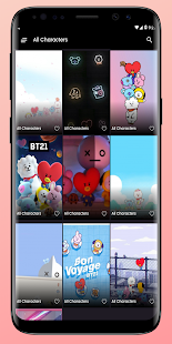 Cute BT21 HD Wallpaper, Backgrounds