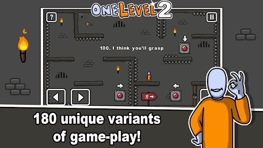 One Level 2: Stickman Jailbreak 1.8.1 screenshots 2