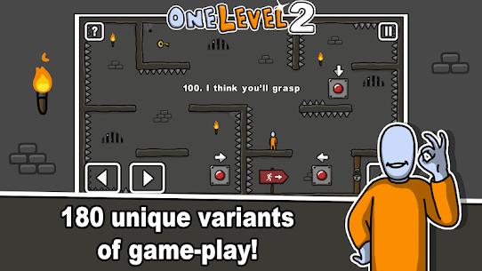 One Level 2: Stickman Jailbreak Mod Apk 1.8.1 2