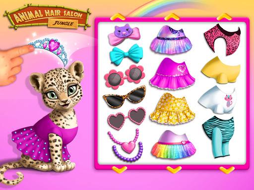 Jungle Animal Hair Salon - Styling Game for Kids 4.0.10018 screenshots 9