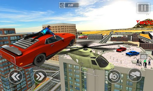 Hollywood Rooftop Car Jump: Stuntman Simulator 1.3 MOD for Android (Unlocked) 1