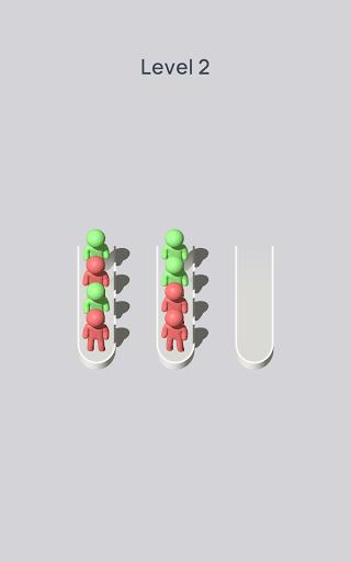 Crowd Sort - Color Sort & Fill  screenshots 9