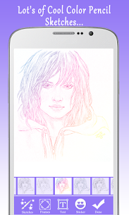 Sketch Guru :Pencil & Cartoon Sketch + Face Sketch Screenshot