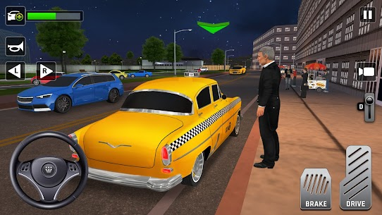 City Taxi Driving: Fun 3D Car Driver Simulator 2