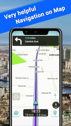Offline Maps, GPS Navigation & Driving Directions 3.5 Screenshots 4