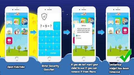 KidsTube - Youtube For Kids And Safe Cartoon Video screenshots 5