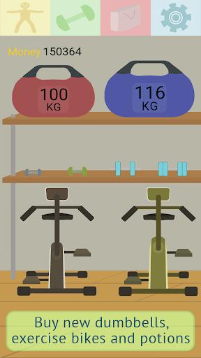 Muscle clicker: Gym game 1.4.5 screenshots 4