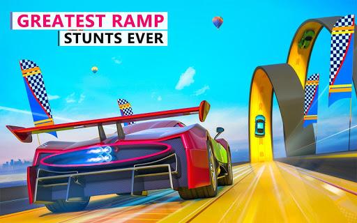 Extreme Stunts Car Chase Ramp GT Racing Car Games screenshots 12