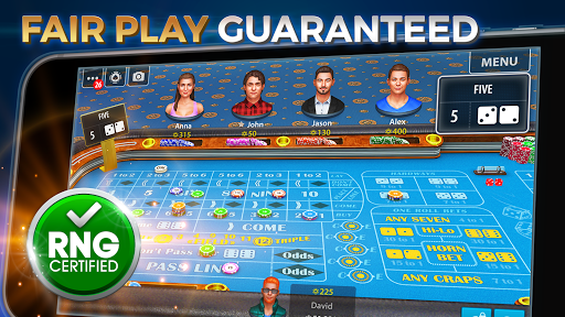 Vegas Craps by Pokerist 40.5.0 screenshots 1