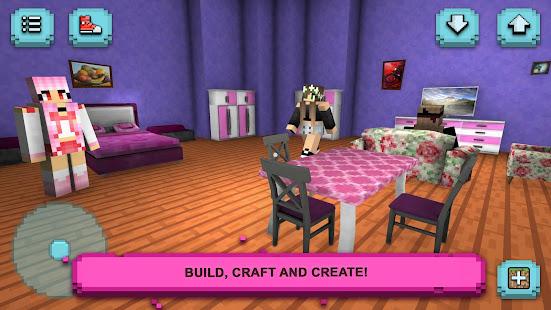 Girls World Exploration: Crafting & Building 1.7-minApi23 screenshots 1