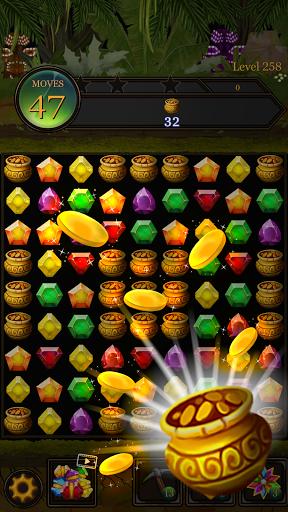 Secret Jungle Pop : Match 3 Jewels Puzzle Apkfinish screenshots 8