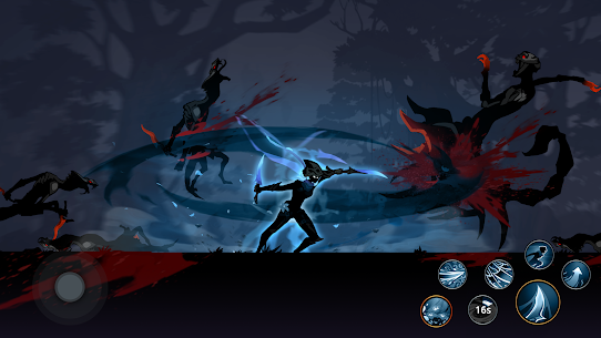 Shadow Knight MOD APK (God Mode) free on Android 3