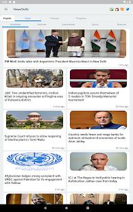 NewsOnAir: Prasar Bharati Official App News+Live 30 Screenshots 9