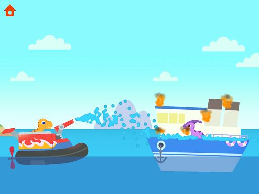 Dinosaur Patrol Boat - Coast Guard Games for kids apkmr screenshots 24