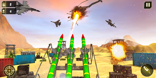 Military Missile Launcher:Sky Jet Warfare 1.0.8 screenshots 7