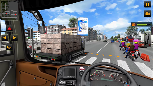 Modern Heavy Bus Coach: Public Transport Free Game 0.1 screenshots 3