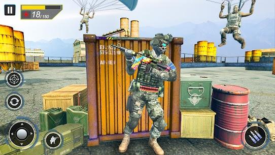Commando Secret Mission Mod Apk (God Mode) 4