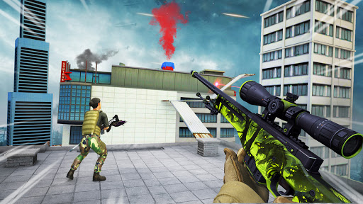 Sniper 3D Shooting Strike Mission: New Sniper Game 1.24 screenshots 5