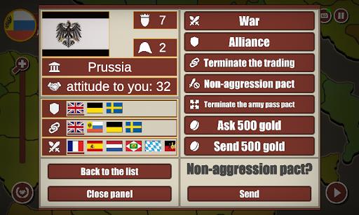 World conquest: Europe 1812  screenshots 3