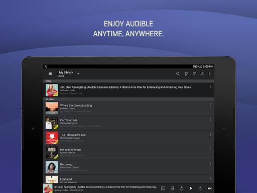 Audible: audiobooks, podcasts & audio stories 2.65.0 Screenshots 9
