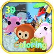 Animal World - Coloring & AR Camera