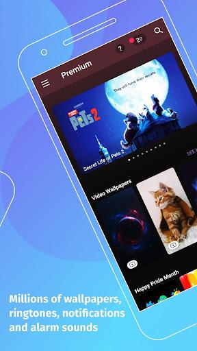 ZEDGEu2122 Wallpapers & Ringtones screenshots 2