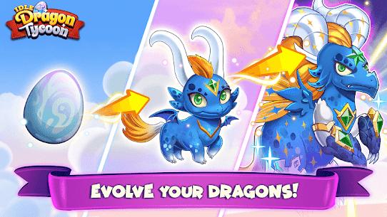 Idle Dragon Tycoon – Ejderha Simülatörü Full Apk İndir 2
