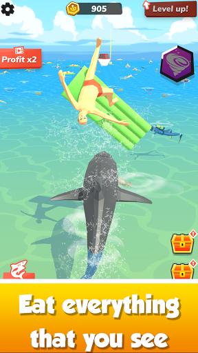 Idle Shark World: Hungry Monster Evolution Game screenshots 5