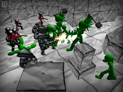 Battle Simulator: Stickman Zombie 7