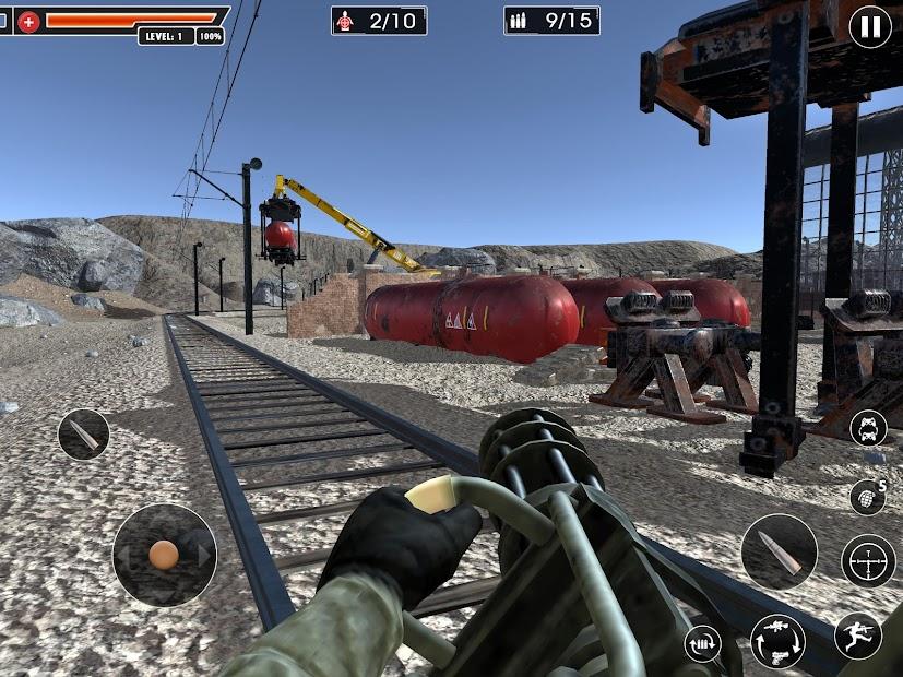 Screenshot 20 de Rangers Honor: Juegos Disparos juegos de pistolas para android