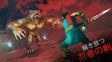 歌舞伎忍者戦士サムライスピリッツ-忍の影アドベンチャー-ソードファイトゲーム3Dのおすすめ画像2