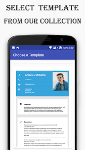 Resume Builder Free app with PDF Download 4.1 APK Mod Updated 3
