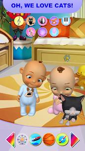 Bebek ikiz Yenidoğan Eğlence Talking Apk İndir 3